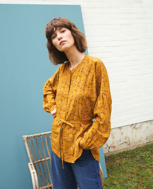 Loose blouse LD GOLDEN SPICE