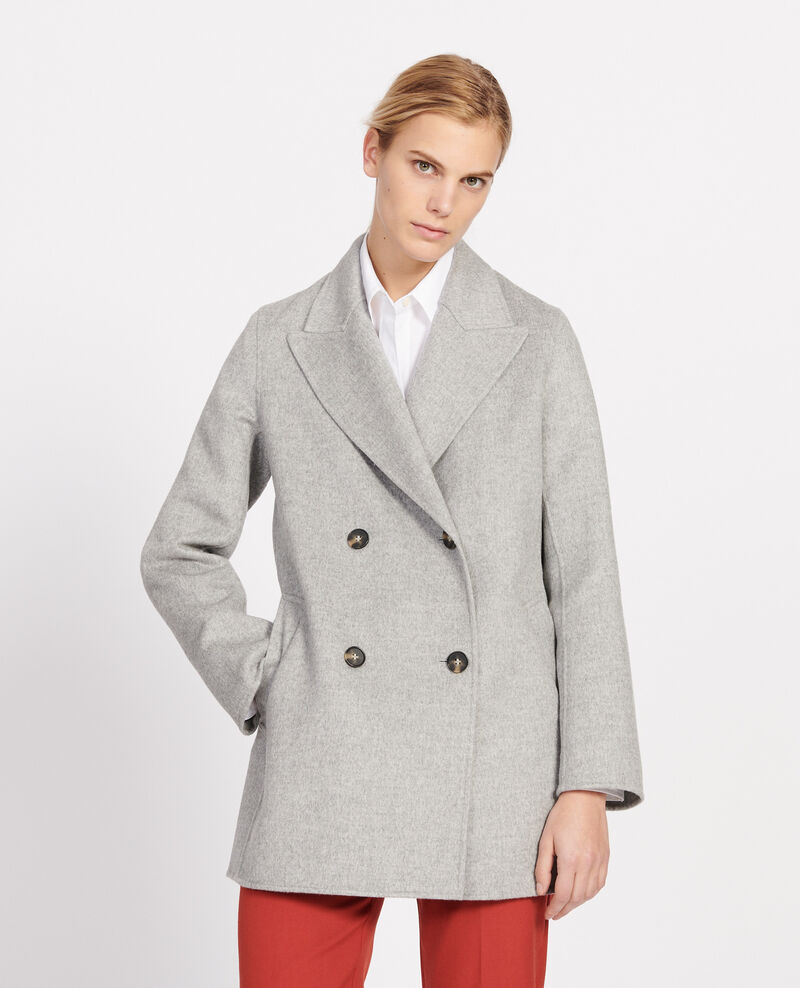 Short coat Light grey Lintot