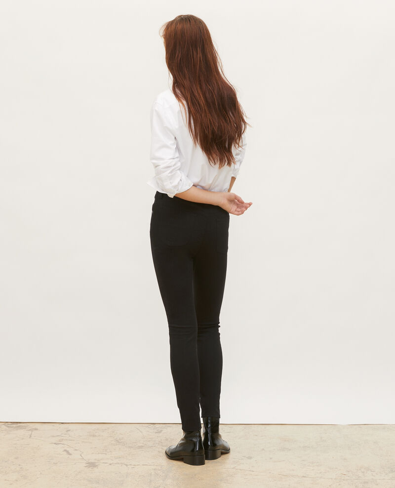 DANI - SKINNY - 5 pocket jeans Black beauty Mozakiny