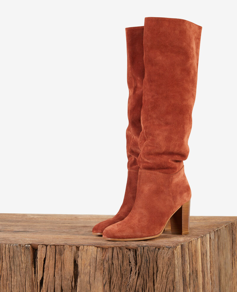 Suede boots Rust Dotte