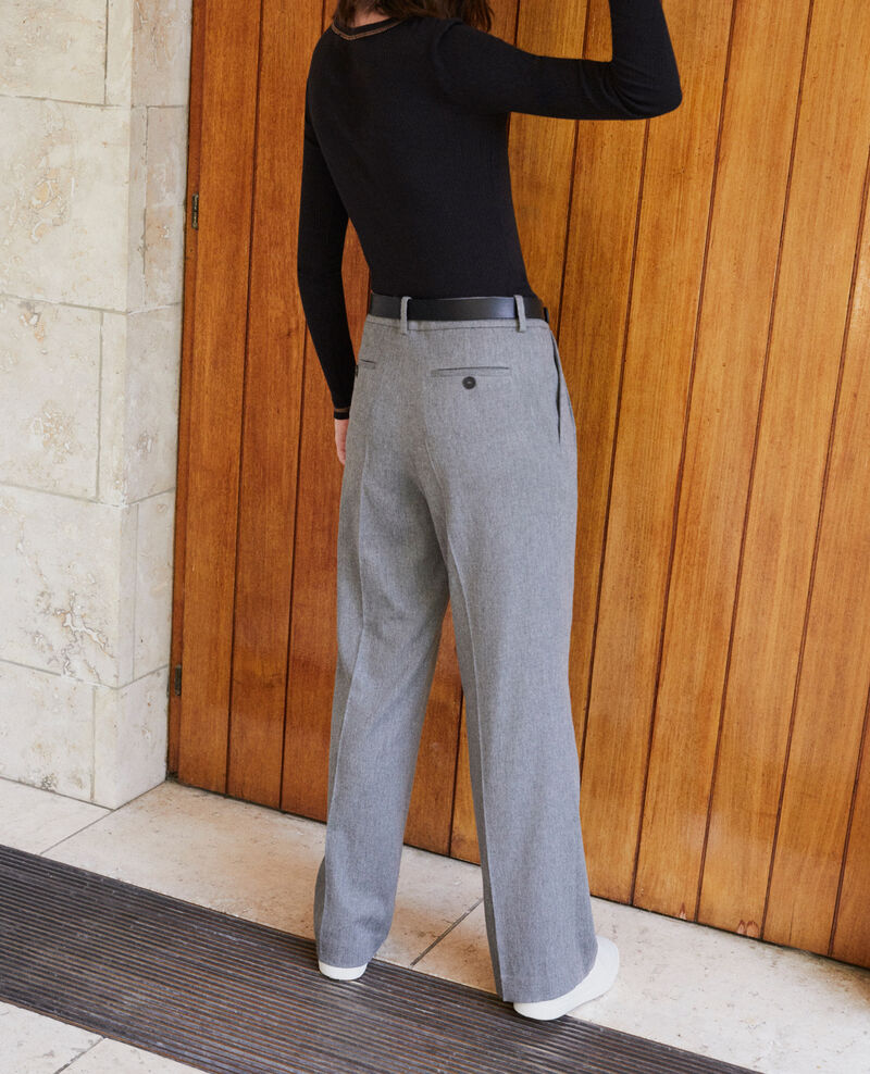 Loose fit trousers Grey Gorgono