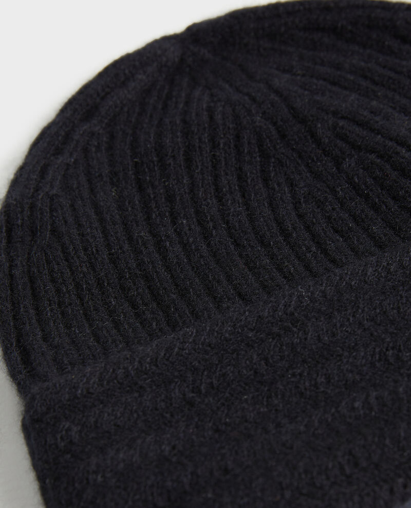 Cashmere beanie Black beauty Minzac