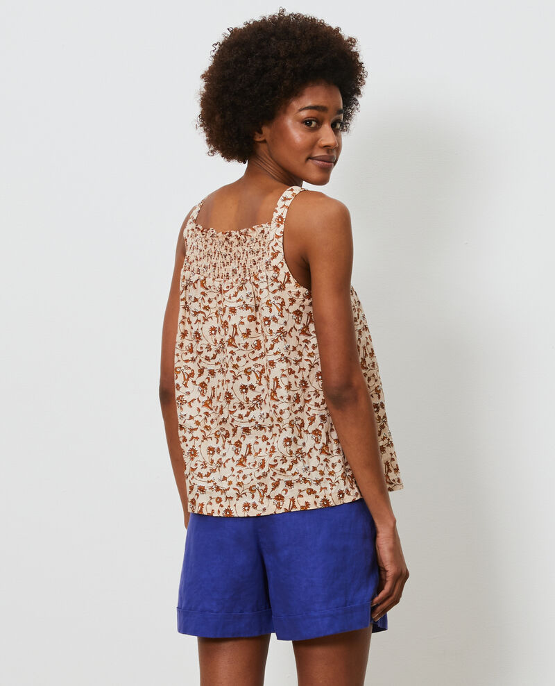 Strappy linen top Indie-small-umber Nantaise