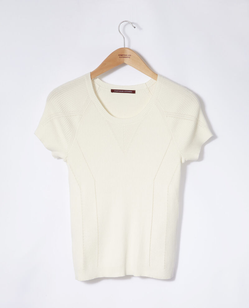 100% cotton jumper White Gildas