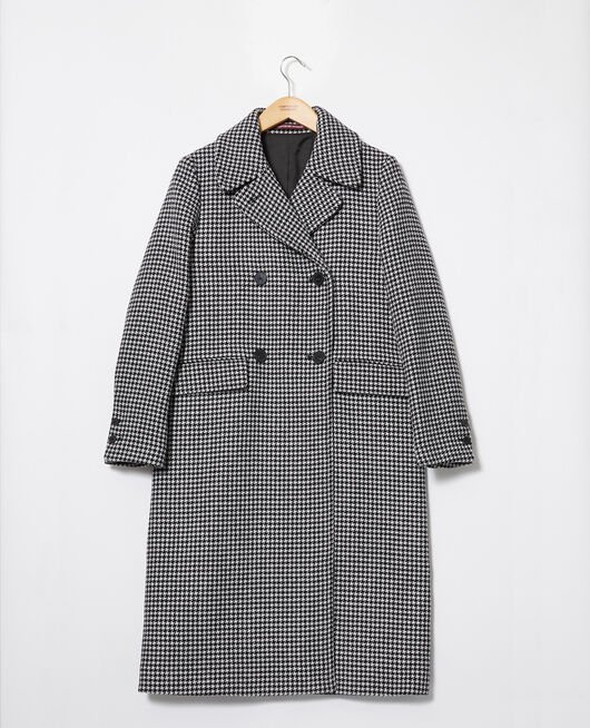 Coat HOUNDTOOTH