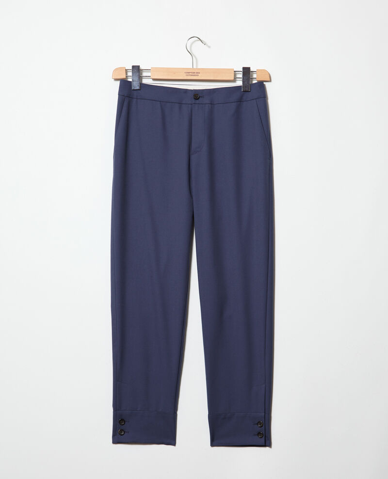 Straight-leg trousers Ink navy Ivaline