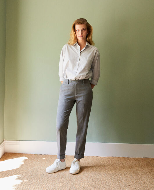 Carrot trousers MIDDLE GREY