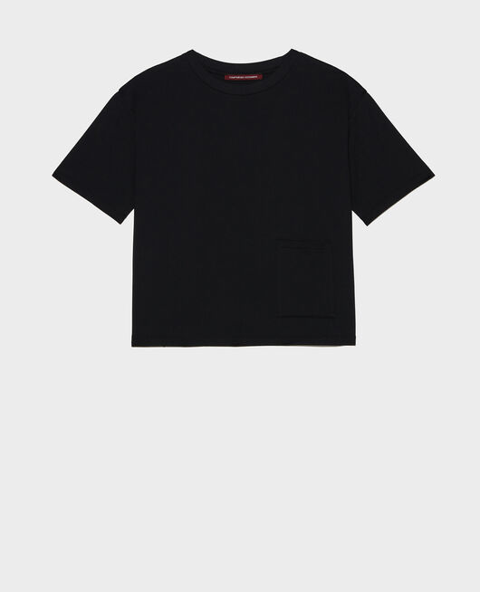 Oversize t-shirt BLACK BEAUTY