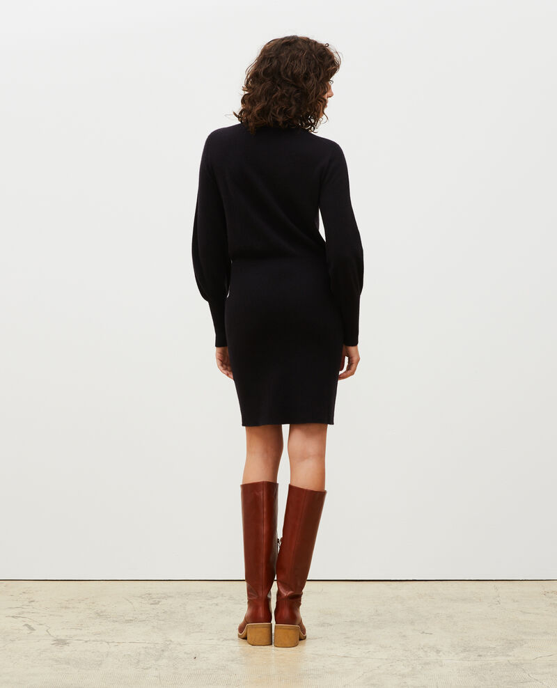 Cashmere jumper dress Black beauty Manin