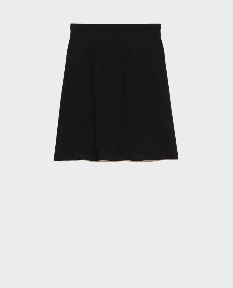 Floaty mini skirt Black beauty Nabira