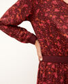 Dress with elasticated waistband Red Gapricorne