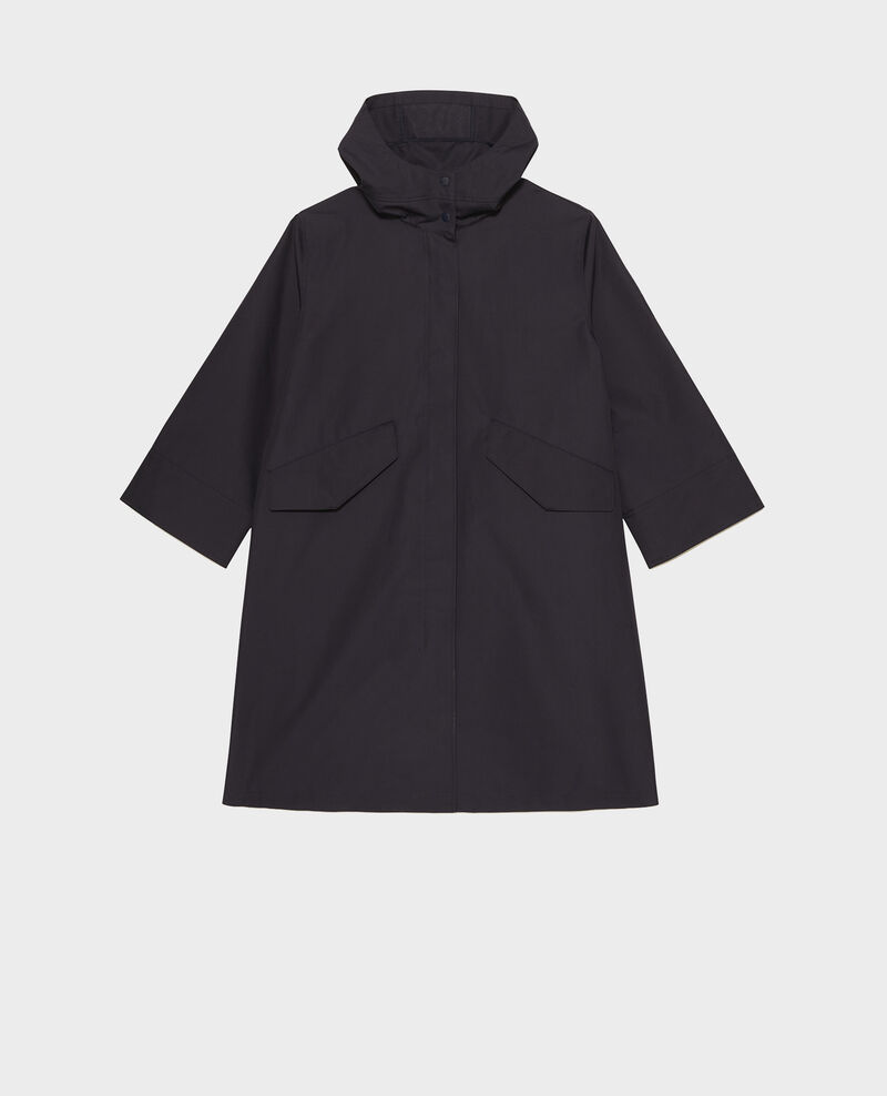 Long hooded parka Night sky Madiere
