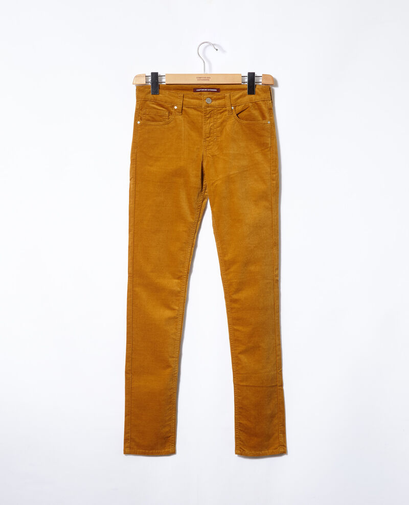 Slim fit jeans Golden brown Guillemin