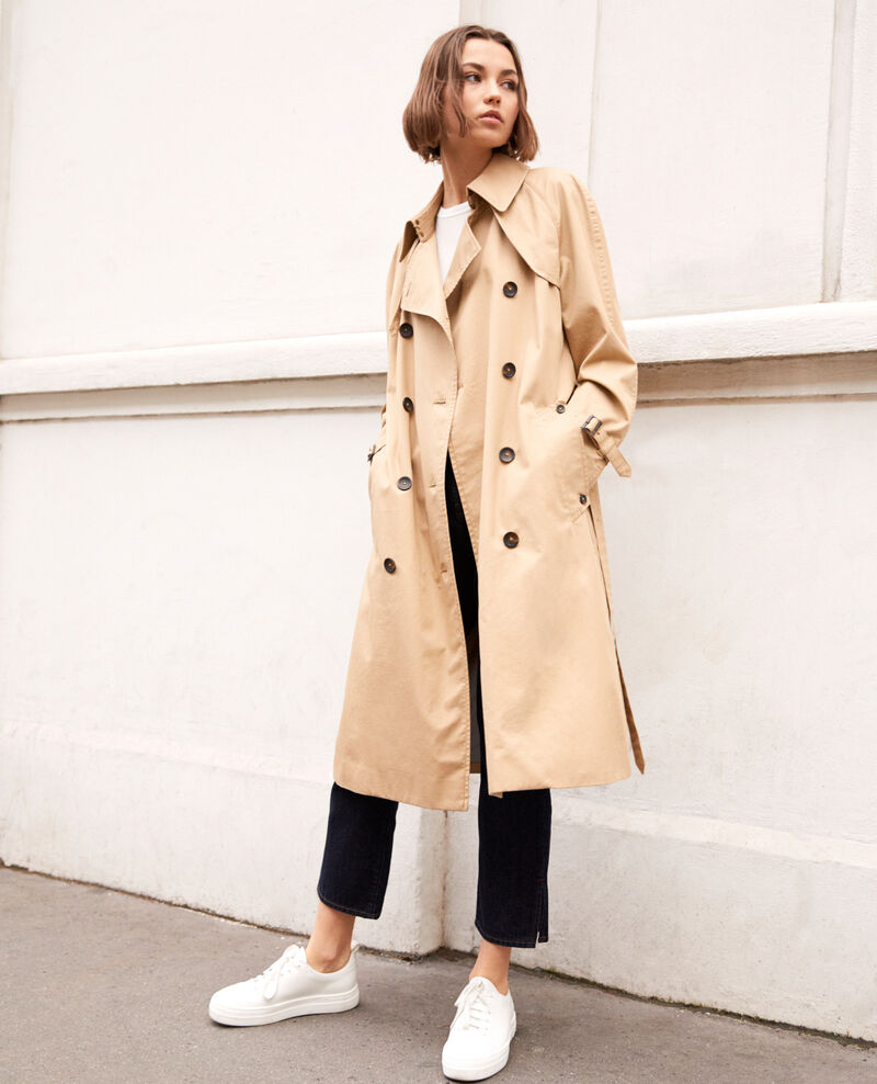 Timeless trench coat Safari beige Illary