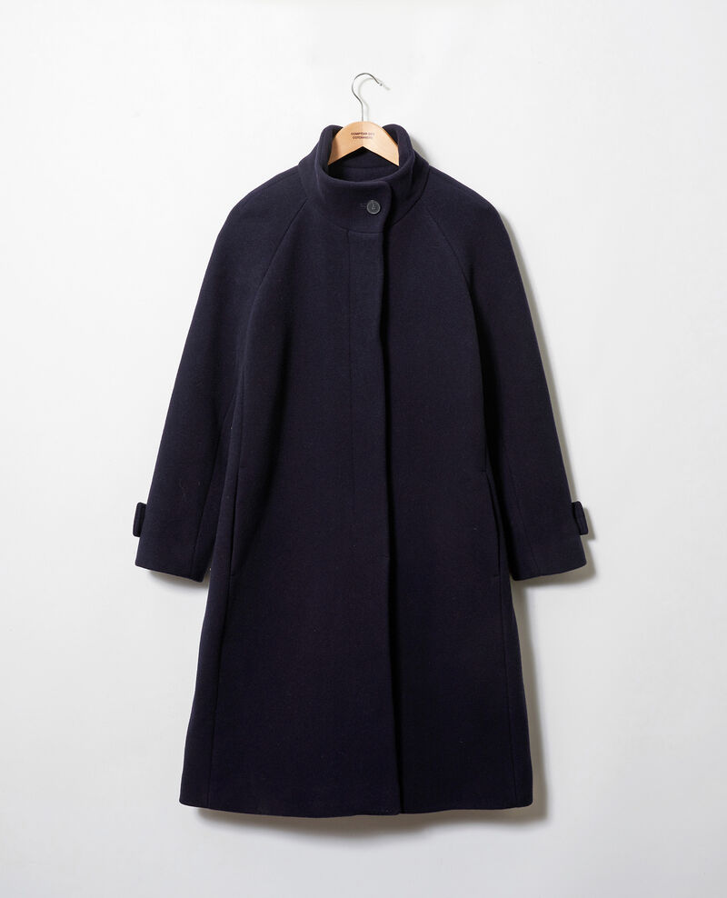 Timeless coat Dark navy Jaddition