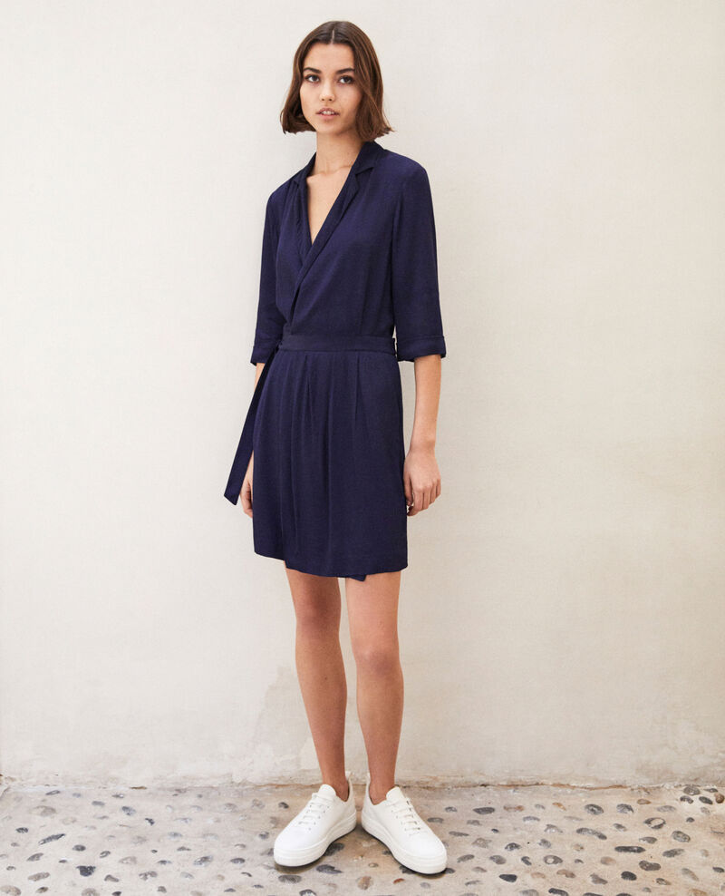 Wrap dress Peacoat Gideen