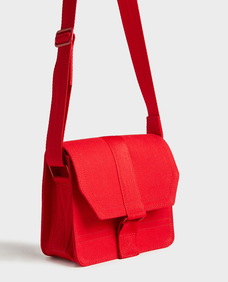 Small cotton bag Fiery red Litterature