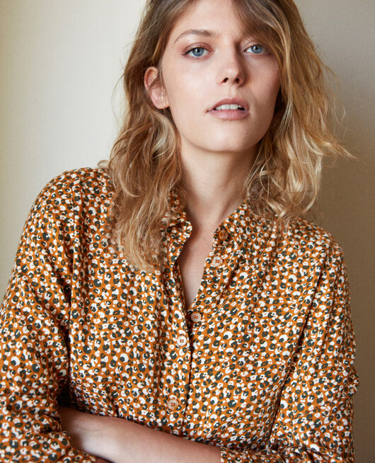 Printed shirt LEOPARD THAI CURRY
