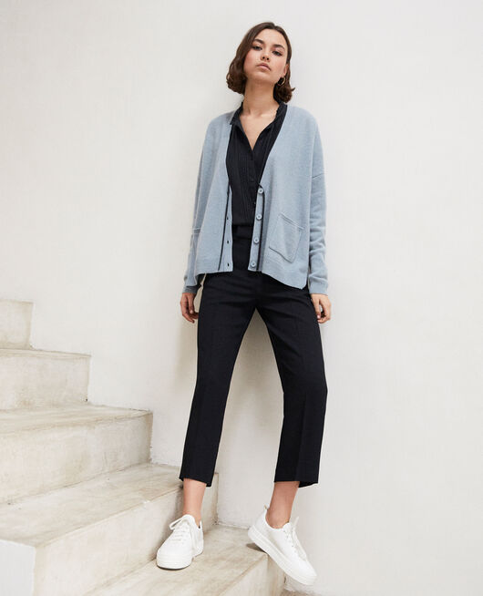 Cashmere cardigan BLUE MIRAGE