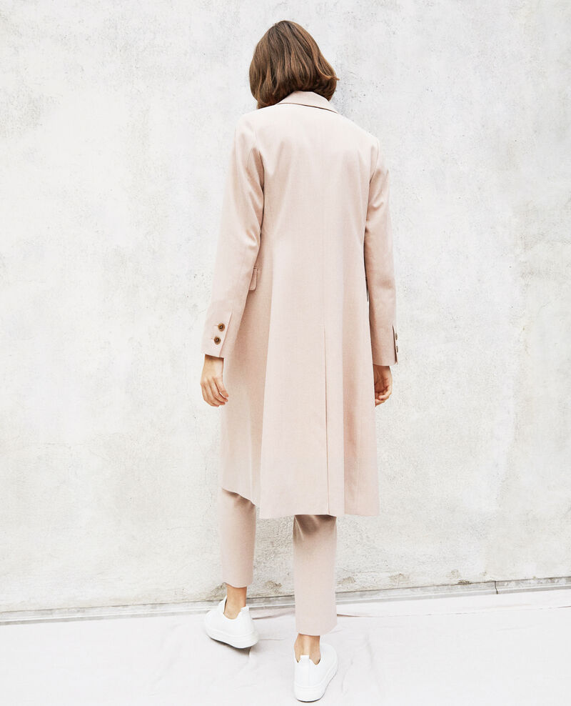 Long lightweight coat Pink beige Illinois