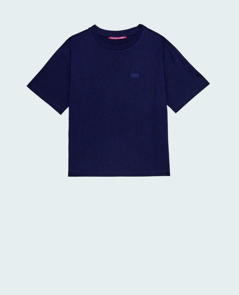 Oversize cotton t-shirt Night sky Maincy