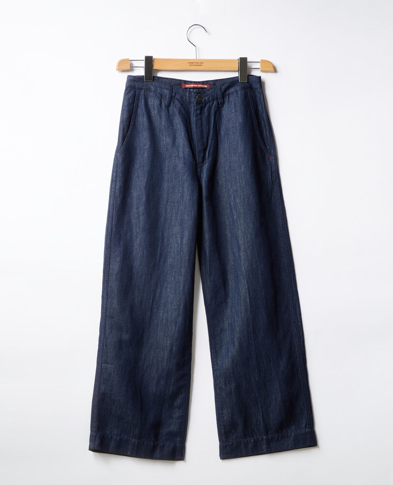 Relaxed fit jeans Dark indigo Feuillette