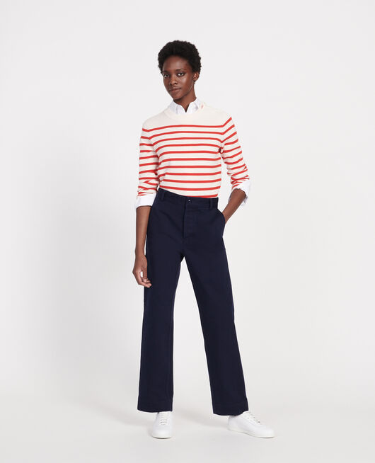 Trousers with pockets MARITIME BLUE