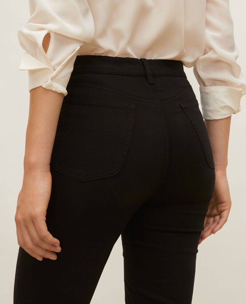 SLIM STRAIGHT - Straight jeans Black beauty Lozanne