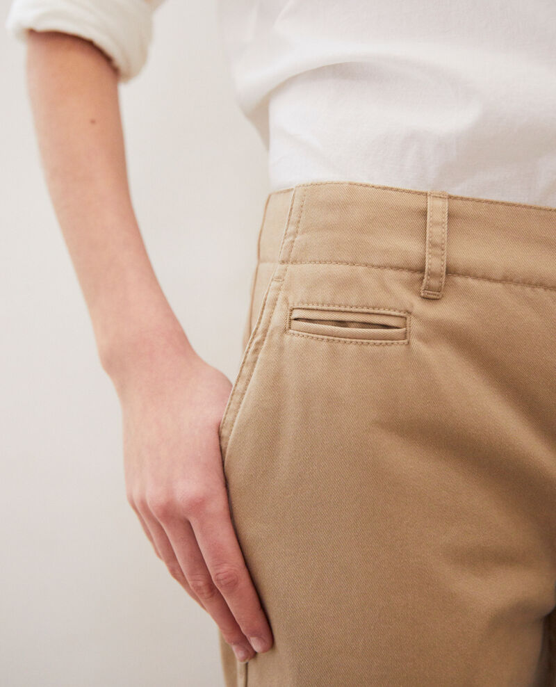 Canvas trousers Safari beige Irouba