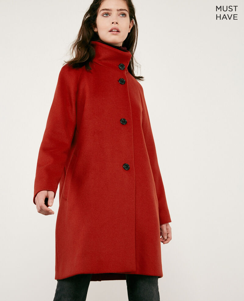 Wool coat Rust Dyera