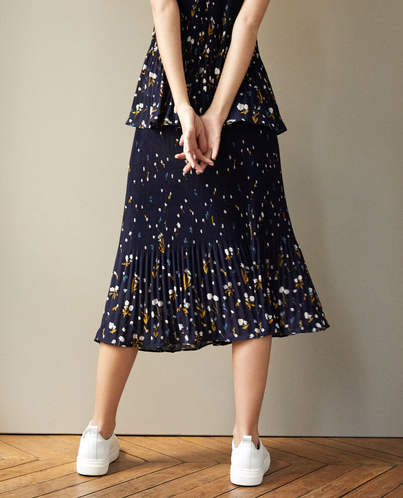 Pleated skirt Blue Garantie