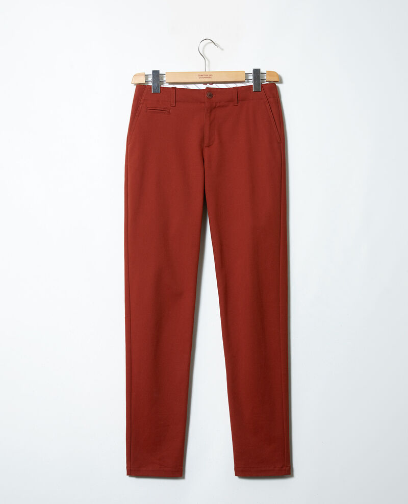 Straight-leg trousers Brandy brown Jino