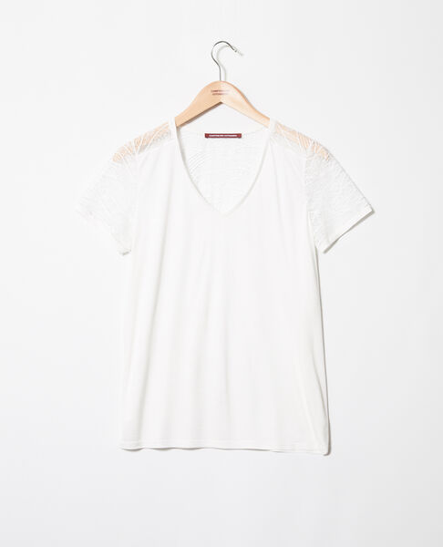 Comptoir des Cotonniers - T-shirt with lace - 2