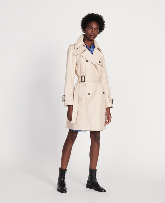 Iconic cotton trench SMOKE GRAY