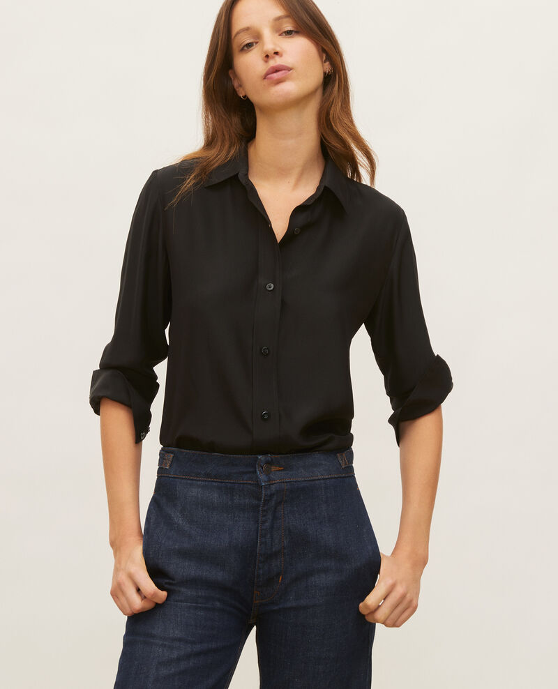 Silk shirt Black beauty Loriges