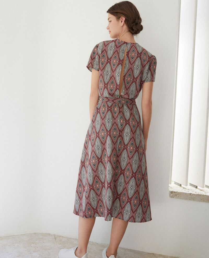 Printed maxi dress Brown Fhloe