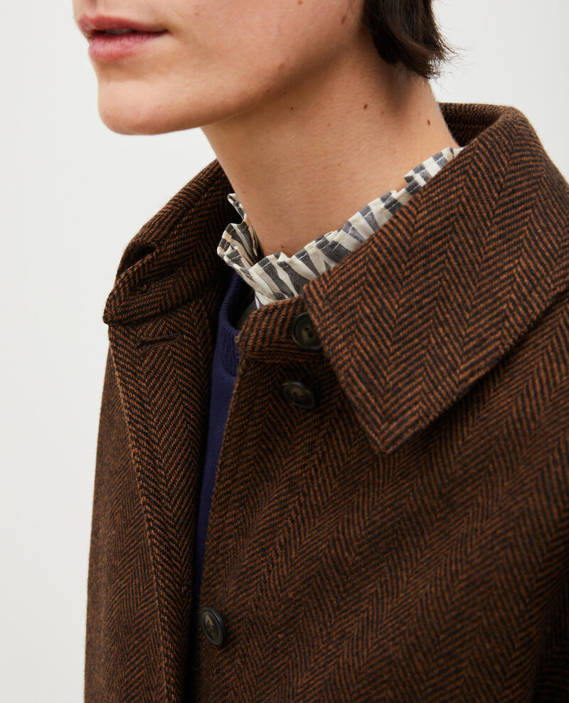 Wool blazer Coffee bean Merlimont