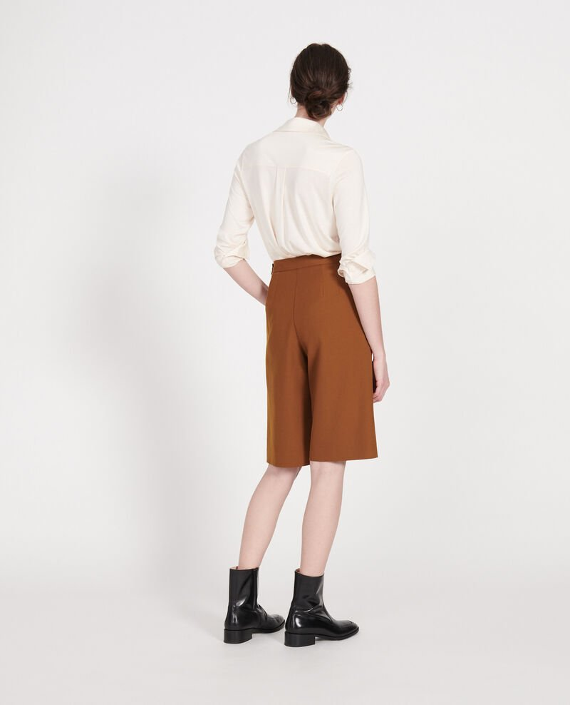Smooth wool bermuda shorts Monks robe Lancelou
