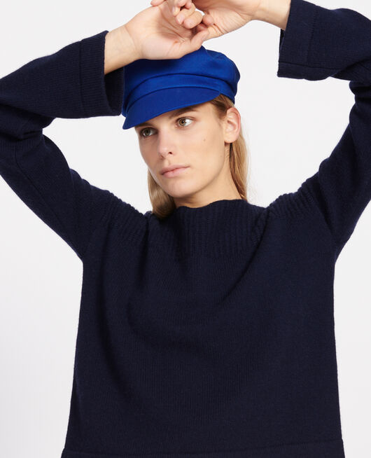 Wool and cashmere jumper MARITIME BLUE