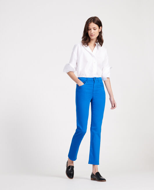Straight-leg trousers PRINCESS BLUE
