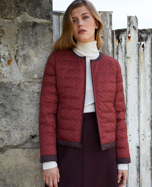 Iconic Mademoiselle Plume down jacket  DR CAB/FUDGE