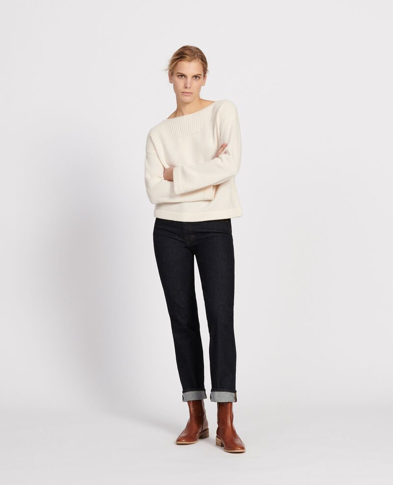 Wool and cashmere jumper Buttercream Lalane
