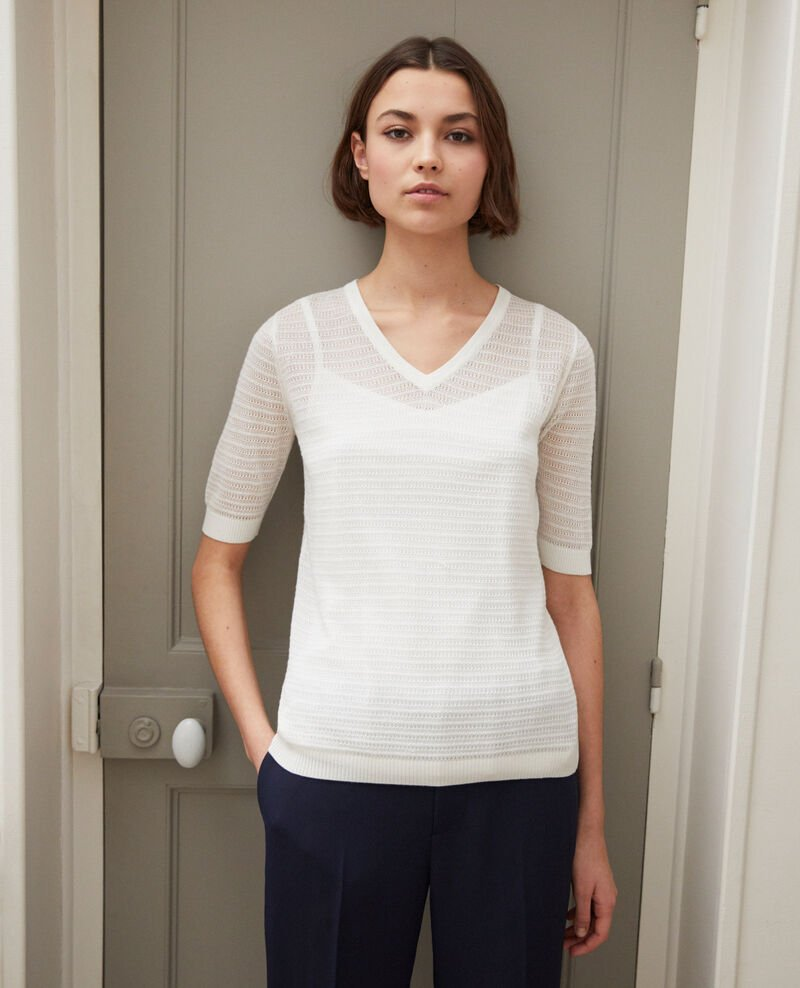 Knit t-shirt Off white Ishirt