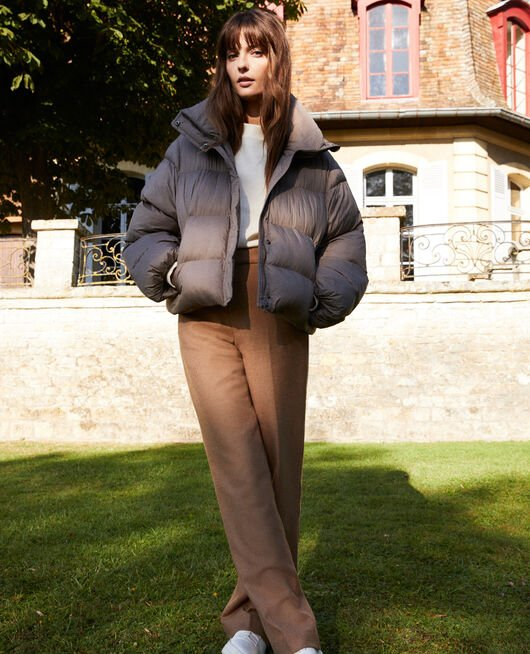 Oversize padded jacket MOREL