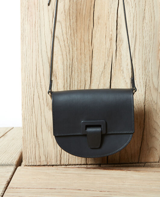 Small half-moon bag NOIR