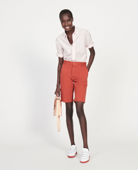 Cotton canvas bermuda shorts KETCHUP