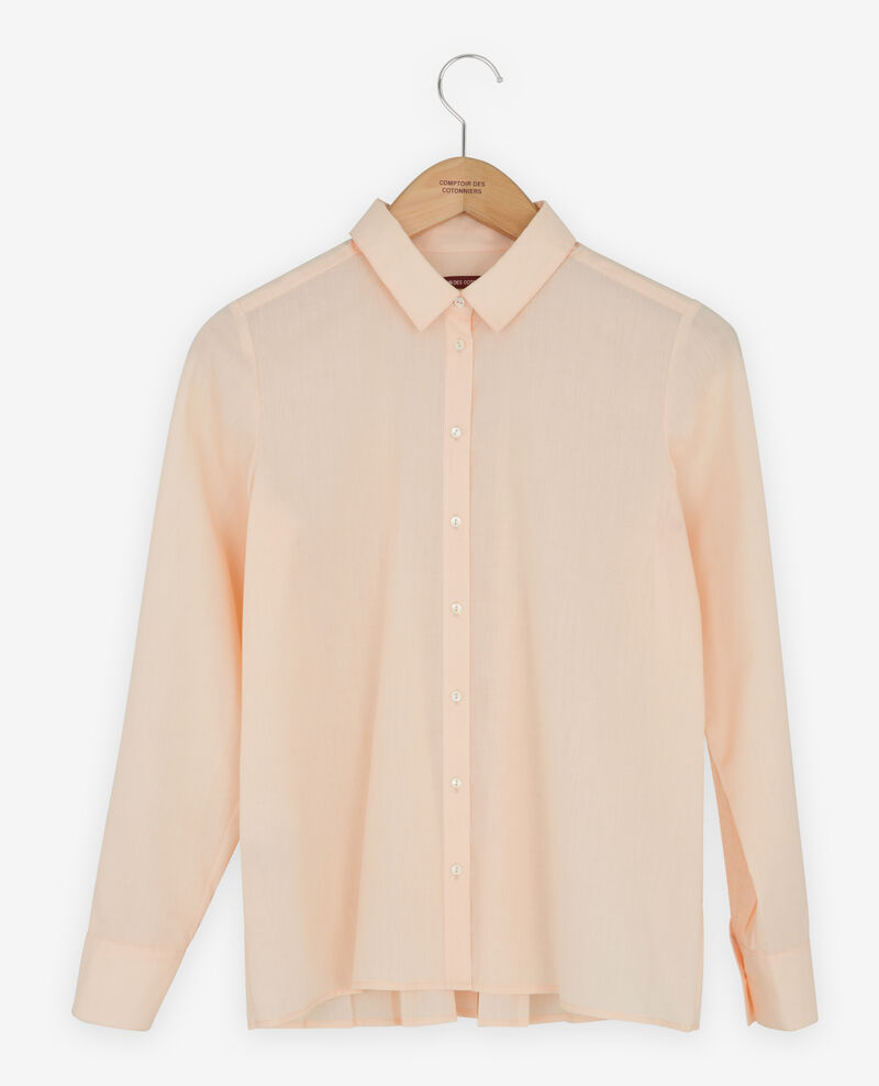 Shirt with pleated back Nude Fratrie