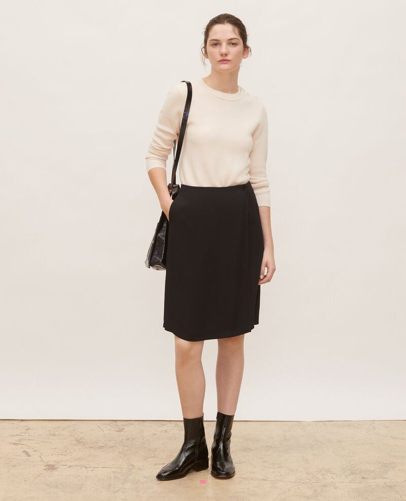 Striped wool jumper Gardenia Logan