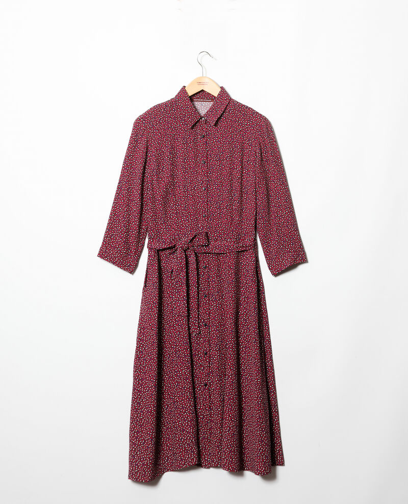 Shirt dress  Red Gabriela