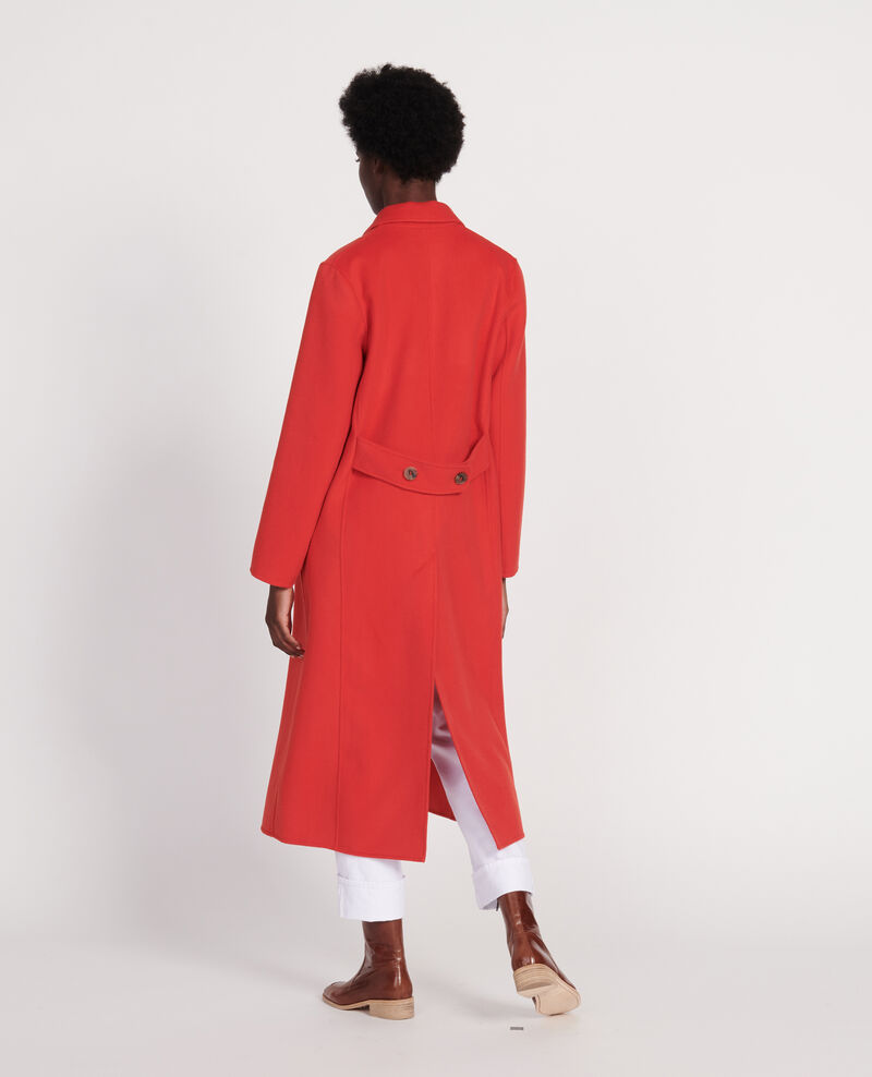 Long coat Fiery red Linard
